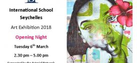 Arterial Network Seychelles (ANS) proudly present the ISS Art Exhibition 2018